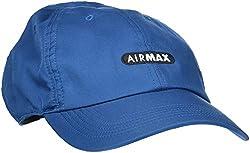Nike AeroBill H86 Air Max Schirmmütze, Blue Force/Black/(White), One Size (54-61 cm)