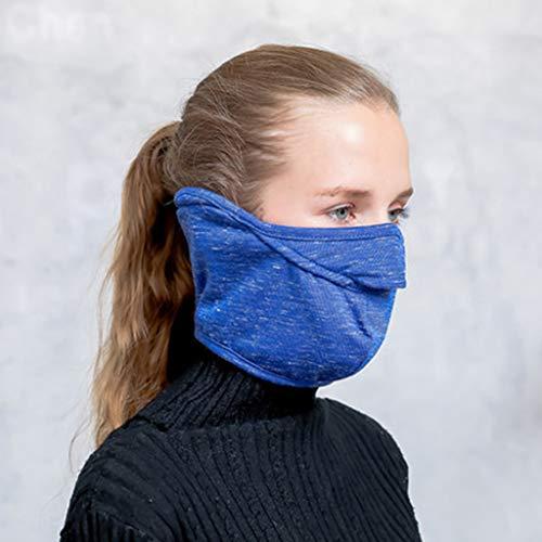 LCLrute Multifunktionstuch Gesichtsmaske, Winter Windschutz Muster Gesichtsmaske Motorrad-Fahrrad-Fußball im Freien Sport Waschbar, Wasserdicht, Atmungsaktiv (Fußball Ski-maske)
