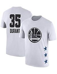 cffbccba1cef0 Camiseta De La NBA Golden State Warriors Kevin Durant Letters Ropa Casual Para  Hombre Ropa De