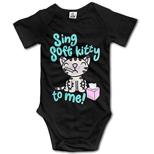 CrownLiny Cute Baby Onesie Sing Soft Kitty Song to Me Romper Onesie Jumpsuit (Billig Tigers Onesies)