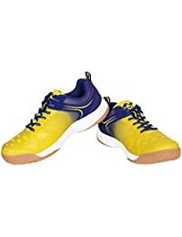 Nivia Mesh HY-Court Badminton Shoes for Men, 3 UK (Blue)