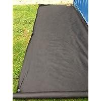 (2x) 1.5m x 100m 50g Yuzet pacciamante di membrana paesaggio tessuto