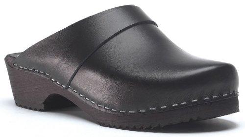 Toffeln Surgi Zoccolo 310 classico tradizionale zoccoli in legno Nero