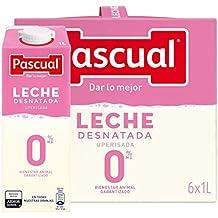 Leche Pascual Clásica Leche Desnatada - Paquete de 6 x 1 l - Total: 6