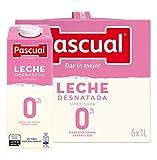 Leche Pascual Clásica Leche Desnatada - Paquete de 6 x 1 l - Total: 6 l