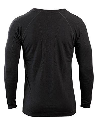 SleepShirt AVIOR / Herren Schlaf-Shirt / LANGARM Oberteil / Seamless