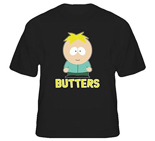 Night spread Butters South Park Comedy TV Show T Shirt (South Park-tv-show)