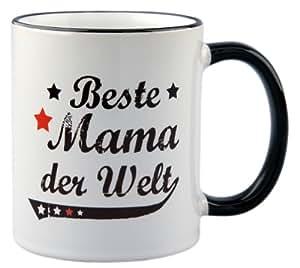 Tasse / Geschenk Beste Mama der Welt Vintage Style