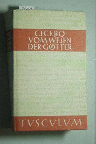 Vom Wesen der Götter. Drei Bücher. Lateinisch und deutsch