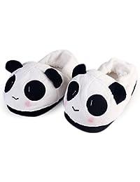 YUMOMO Emoji Peluche Pantoufles Hommes Et Femmes Chaussons Hiver Chaud  House Slipper Shoes Taille 35- 574c90306278