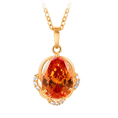 yazilind-18k-gold-plated-orange-water-drop-pendant-necklace-for-women-gifts-ideas