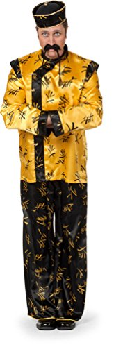 ,Karneval Klamotten' Kostüm Chinese China Herr Karneval Asien Herrenkostüm (Asien Kostüme)