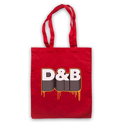 D&B Drum And Bass Umhangetaschen Rot