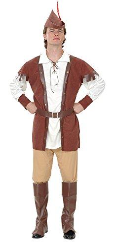Bristol Novelty AC700 Robin Hood Luxus Kostüm für -