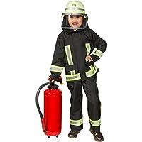 Costume da vigile del fuoco, uniforme per travestimenti e carnevale, modello da ragazzi
