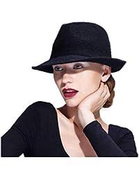 Amazon.it  cappello trilby donna - Cappelli e cappellini   Accessori ... 6726e8b90992