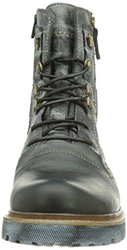 Yellow Cab Apache M, Bottes Combat de hauteur moyenne, doublure froide homme Noir - Noir