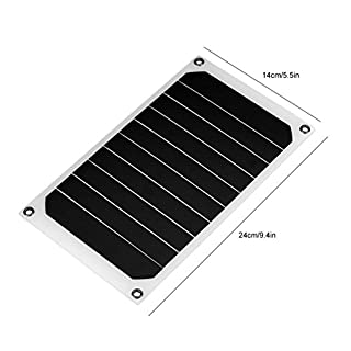 ASOSMOS Portable 10W IP64 Waterproof Solar Panel Mobile Power Charger 5V USB Powerful Charging