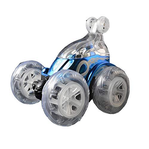LIUQIAN Aufladen der Fernbedienung Wagen sechs Musik Fernbedienung Stunt Auto Beleuchtung Kinder Spielzeug Wagen