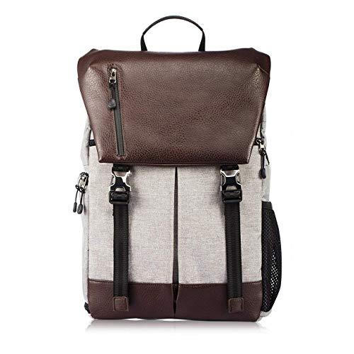 A-Qncie Mode Outdoor Reise SLR Kamera Rucksack Wasserdicht Diebstahlsicherung Große Kapazität mit Laptopfach Rucksack Abnehmbare Schindel Fotografie Tasche