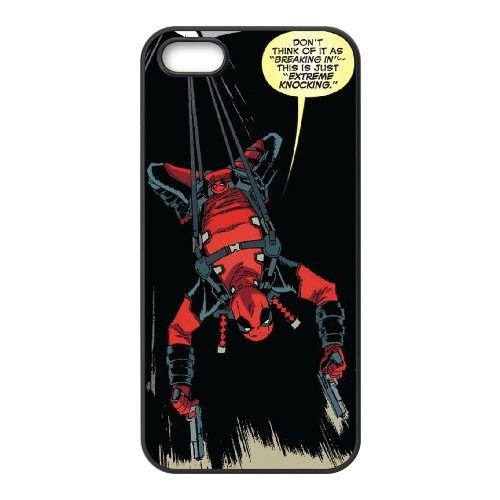 Deadpool coque iPhone 4 4S Housse téléphone Noir de couverture de cas coque EBDXJKNBO12122