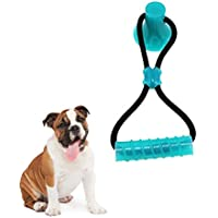 Puhand Masticar Juguete Juguete De Mordedura De Perro Dientes Limpios Elimina La Energía del Perro Adecuado para Perros Pequeños y Medianos. (Azul)