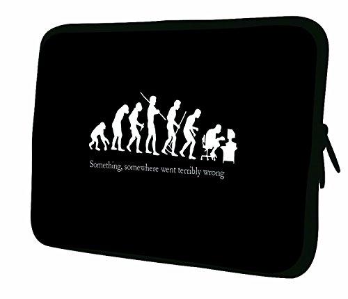 Luxburg Notebooktasche Laptoptasche Tasche aus Neopren Schutzhülle Sleeve für Laptop/Notebook Computer Tablet 12,1 Zoll