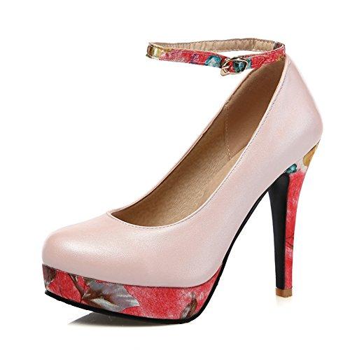L'Europe et les chaussures légères/Vintage plateforme high heels/Boucle de chaussures à talons B