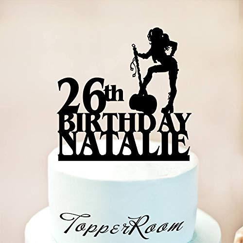 ufsatz, Harley Geburtstag Kuchen Topper, Daddy's Lil Monster, Superhelden, Geburtstagskuchendekoration, Harley Quinn Party ()