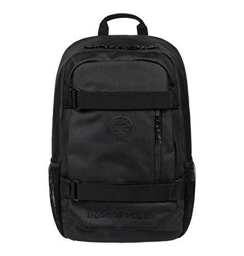 DC Shoes Clocked Mochila tipo casual, 52 cm, 18 litros, Anthracite