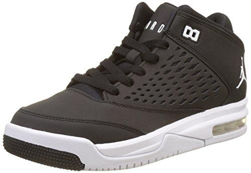 Nike Jungen Jordan Flight Orgin 4 (GS) Basketballschuhe, Schwarz (Black/white), 36.5 EU