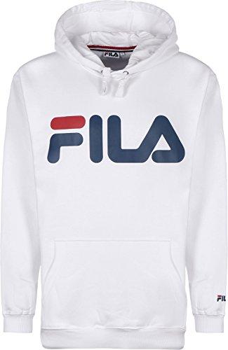 Fila Classic Logo Kangaroo Sudadera con capucha bright white