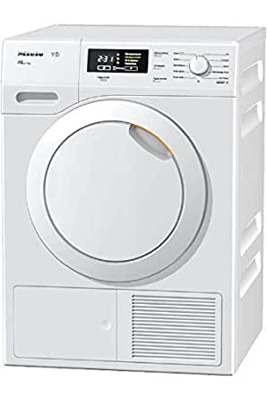 Miele TKB150 WP Eco freestanding Front-load 7kg A++ White - Tumble Dryers (Freestanding, Front-load, Heat pump, White, Buttons, Rotary, Left)