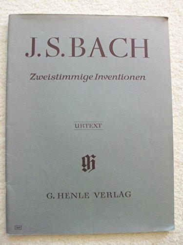 J. S. Bach. Zweistimmige Inventionen. Urtext.