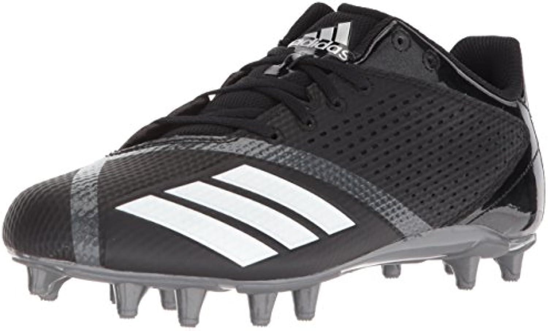 new arrivals 0365d e36e0 ... air max nike d7a23 f6d4e get adidas mens 5.5 star black white night  football shoe black white night star metallic size
