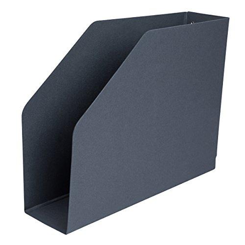 ELBA 100551999 Stehsammler Kassette aus Hartpappe für Kataloge und Zeitschriften in schwarz hochwertiger Zeitschriften-Sammler