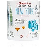Mr. Wonderful - Taza con mensaje Things that make me love New York