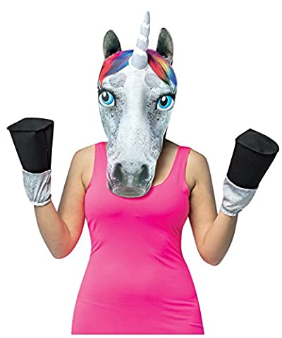 Unicorn Head W Hooves, As Shown, One Size Fits Most