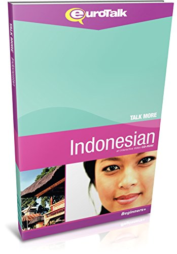 Talk More Indonesian: Interactive Video CD-ROM - Beginners+ (PC/Mac)