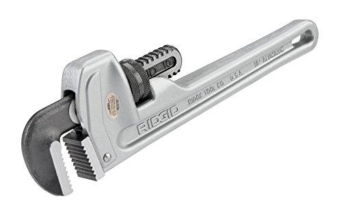 Ridgid Aluminium-Rohrzange, gerade 10 Zoll 250 mm, 1 Stück, 31090