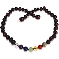 Child Chakra Rainbow After The Storm Mixed Cherry Baltic Amber Necklace preisvergleich bei billige-tabletten.eu