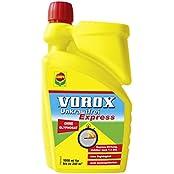 VOROX® Unkrautfrei Express, Totalherbizid-Konzentrat, mit schneller Wirkung, gegen Unkräuter, Algen und Moose, 1000 ml