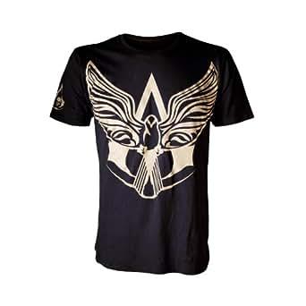 Official T Shirt ASSASSINS CREED IV 4 SYMBOL Black Flag S