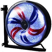 YAGEER bideng Luz giratoria de LED Tienda a Prueba de Agua Hotel Barbería Molino de Viento