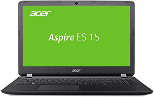 Acer Aspire ES 15 (ES1-524-92ST) HD Laptop (AMD A9-9410, 4 GB RAM, 500 GB HDD, AMD Radeon R5, Win 10 Home) schwarz -