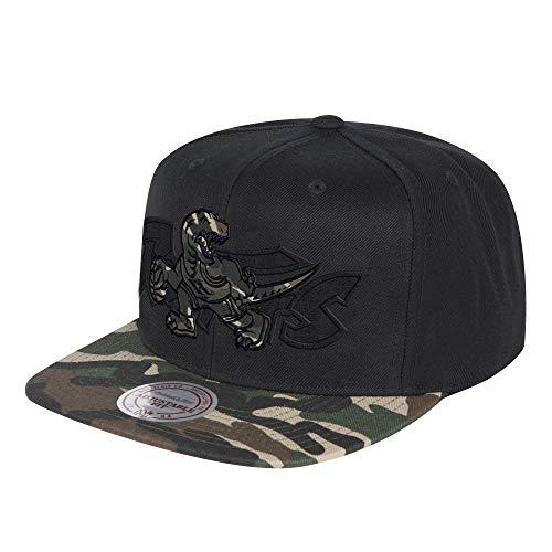 Mitchell   Ness Cappellino Camo Brim Raptors Baseball cap Cappello Hiphop  Taglia Unica - Nero 0cde55fa220d