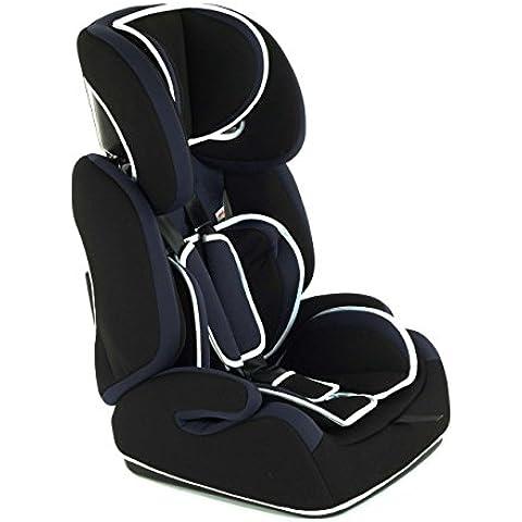 Baby Vivo Silla para coche / Elevador Tom Grupo 1 + 2 + 3, 9-36 kg azul / negro car seat