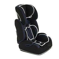 Baby Vivo Kinderautositz Autokindersitz Autositz Kindersitz TOM von 9-36 kg für Gruppe 1+2+3 mitwachsend ab 15 Monaten bis 12 Jahre in Blau/Schwarz