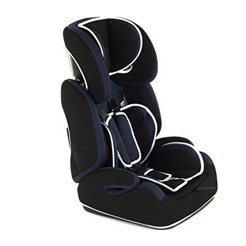 Baby Vivo Kinderautositz Autokindersitz Autositz Kindersitz TOM von 9-36 kg für Gruppe 1+2+3 mitwachsend ab 15 Monaten bis 12 Jahre in verschiedenen Farben