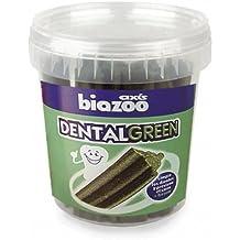 BIOZOO - SNACK APERITIVO HIGIENE DENTAL GREEN STICK PARA PERROS 1400 GRS.